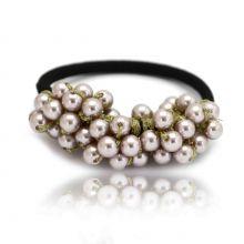 "Élastique ""Pearls"" en perles"
