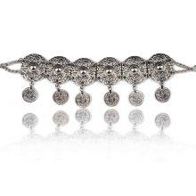 """Bracelet """"Tribal Style - Jamila"""" en métal argenté"""