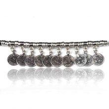 "Bracelet ""Tribal Style - Suhaila"" en métal argenté"