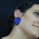 """Boucles d'oreilles fantaisie """"Bonbon - Ovale"""" en acrylique   Les Bijoux de Camille, bijoux fantaisie pas chers"""