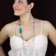 """Parure fantaisie """"Colors"""" en métal argenté et perles de résine   Les Bijoux de Camille, bijoux fantaisie pas cher"""