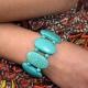 """Bracelet """"Turquoise - Joyau"""" en turquoise   Les Bijoux de Camille, bijoux fantaisie pas cher"""