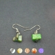 "Boucles d'oreilles fantaisie ""Simple-Shell"" en nacre"