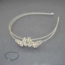 """Serre-tête """"Papillon de nuit"""" en métal et strass   Les Bijoux de Camille, bijoux fantaisie pas cher"""