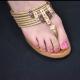 """Bague de pied """"Cœurs"""" en métal   Les Bijoux de Camille, bijoux fantaisie  pas cher"""