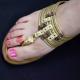 """Bague de pied """"Ramsès"""" en métal   Les Bijoux de Camille, bijoux fantaisie  pas cher"""