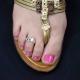 """Bague de pied """"Libellule"""" en métal   Les Bijoux de Camille, bijoux fantaisie  pas cher"""