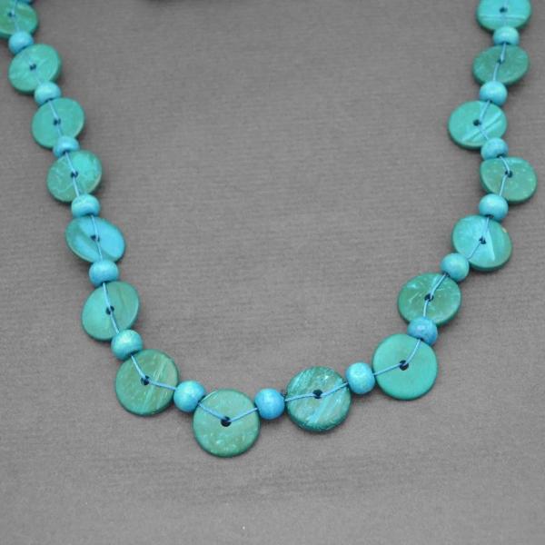 Collier fantaisie Africa 3 en perles de bois  Les Bijoux de Cami ~ Collier En Bois Femme
