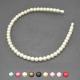 "Serre-tête ""Perles"" en perles de synthèse"