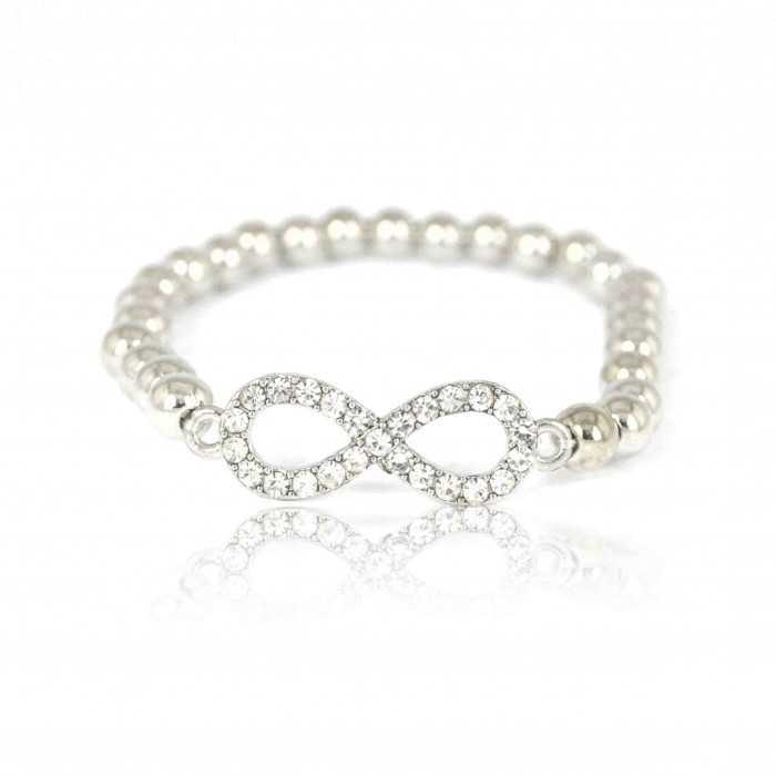 """Bracelet """"Big Infinity"""" en perles"""