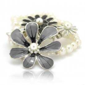 """Bracelet """"Flowers"""" en perles"""