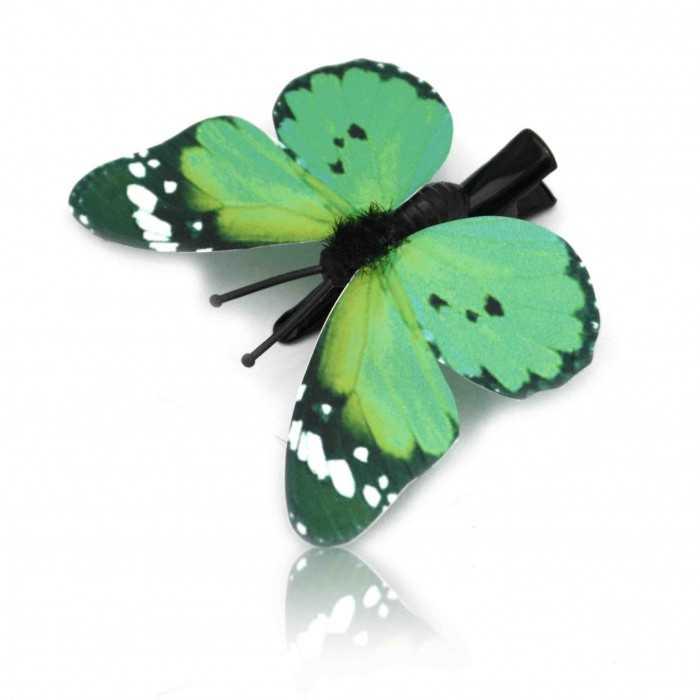 """Épingle à cheveux """"Mini Papillon des Prés"""" en papier"""