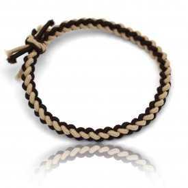 """Bracelet fantaisie """"Elastic"""" en tissu élastiqué"""