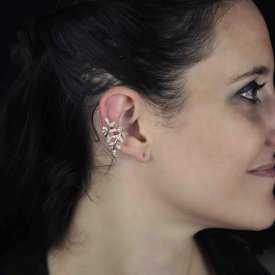 """Boucles d'oreilles """"Sylphides"""" en métal et strass"""