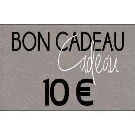 Bon cadeaux - 10 €