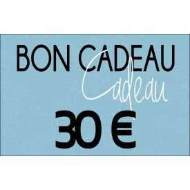 Bon cadeaux - 30 €