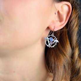 "Boucles d'oreilles ""Ikita - Voodoo"" en métal*"