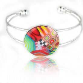 """Bracelet """"Liz'Créations - Sweety"""" en argile polymère"""