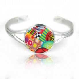 """Bracelet """"Liz'Créations - Rond"""" en argile polymère"""
