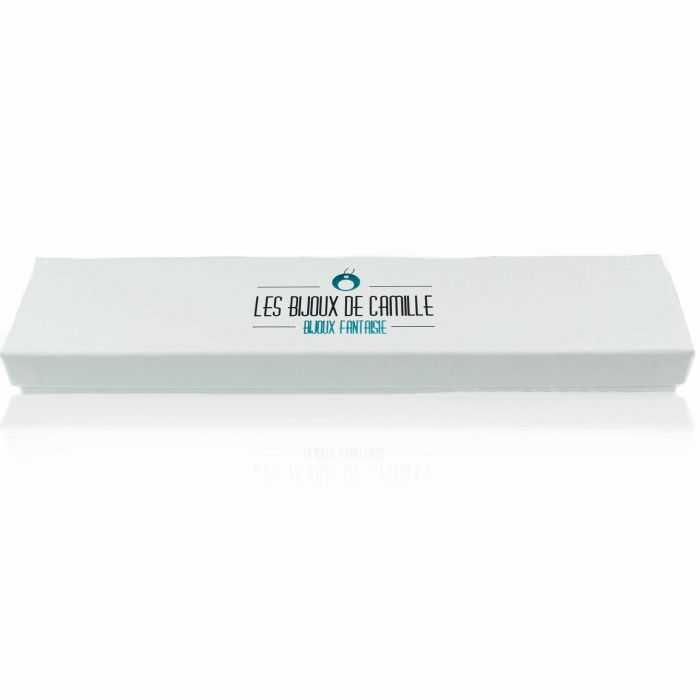 """Écrin """"LBDC - Bracelet long"""" en carton"""