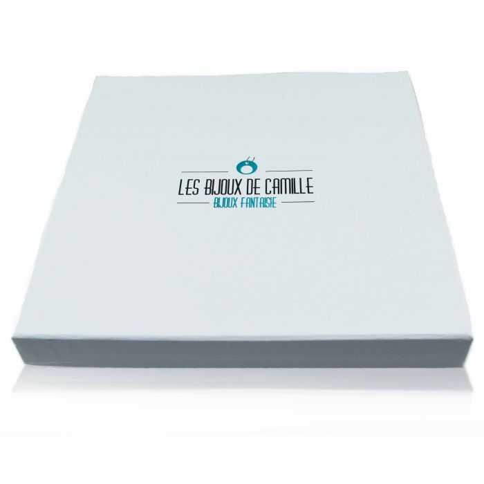 """Écrin """"LBDC - Parure"""" en carton"""