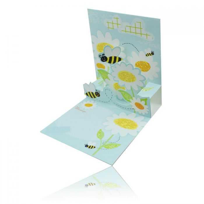 Carte en papier avec enveloppe