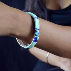 "Bracelet ""Ikita - Ceram"" en émail"