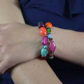 """Bracelet """"Ikita - Colors"""" en perles"""