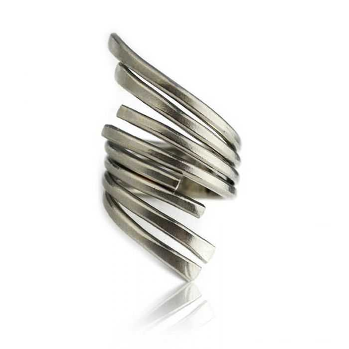 "Bague ""Katerina Vassou - Wings"" en métal"