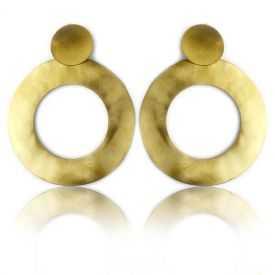 "Boucles d'oreilles ""Katerina Vassou - Smooth Hoops"" en métal"