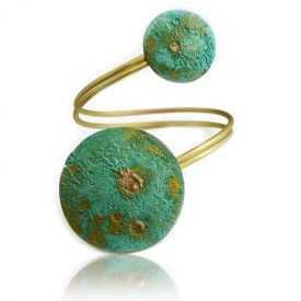 """Bracelet """"Katerina Vassou - Planet"""" en métal"""