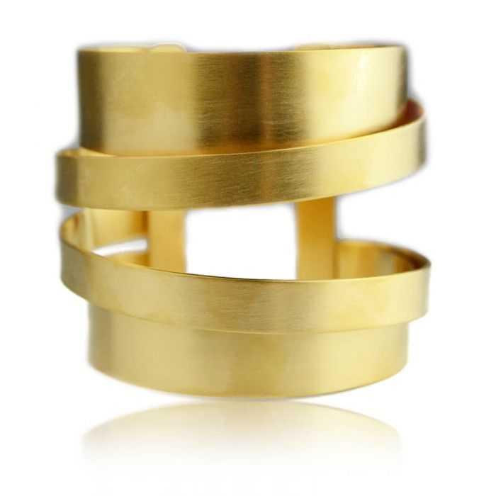 """Bracelet """"Katerina Vassou - Shuffles Circles"""" en métal"""