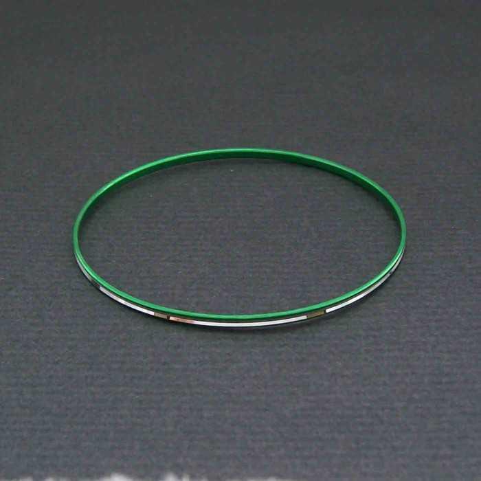 """Bracelet fantaisie """"Cercle de feu"""" en aluminium ciselé   Les Bijoux de Camille, bijoux fantaisie pas cher"""