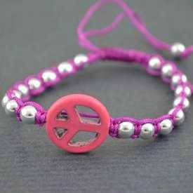 """Bracelet """"Hippie"""" en métal et imitation turquoise   Les Bijoux de Camille, bijoux fantaisie pas cher"""