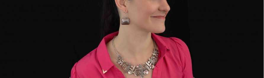 Bijoux fantaisie pas cher. Parures métal | Les Bijoux de Camille