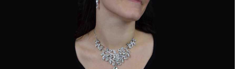 Bijoux fantaisie pas cher. Parures strass | Les Bijoux de Camille