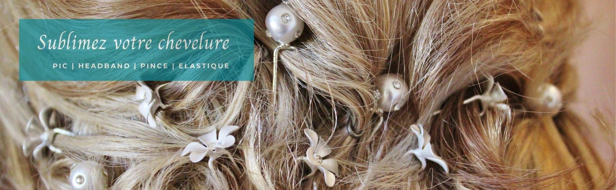 Accessoires pour cheveux bijoux fantaisie